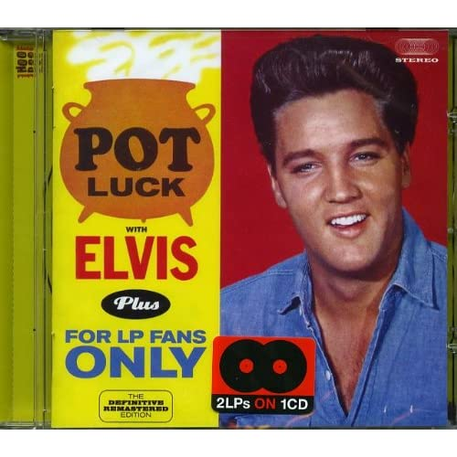 Pot-Luck-With-Elvis-For-LP-Fans-Only-bonus-tracks-Elvis-Presley-Audio-CD