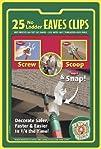IndoorOutdoor Eave Grip Clips Light Hooks 25-Pack