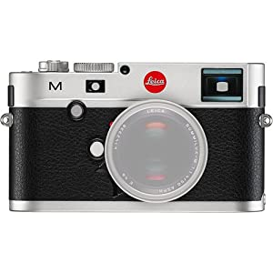 Leica 10771 M 24MP RangeFinder Camera with 3-Inch TFT LCD Screen - Body Only (Silver/Black)