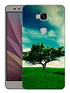 "Humor Gang Tree Of Life Printed Designer Mobile Back Cover For ""Huawei Honor 5X"" (3D, Matte, Premium Quality Snap On Case)"