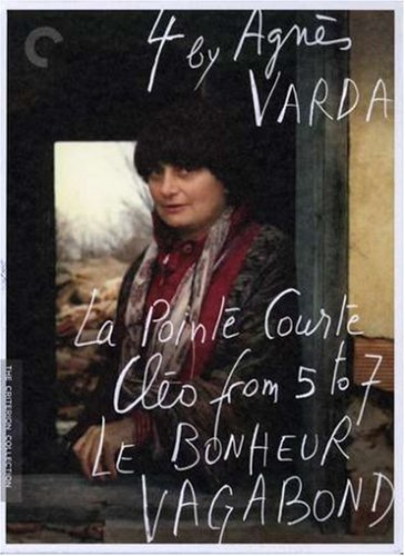 Cover art for  Four by Agnes Varda (La Pointe Courte / Cleo from 5 to 7 / Le bonheur / Vagabond) (The Criterion Collection)