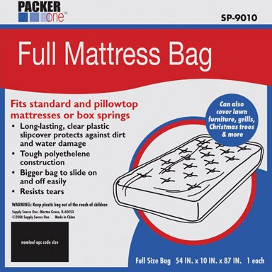 "Buy Discount SCHWARZ SUPPLY SOURCE SP-9010 Packer One Full Mattress Cover, 54"" by 10"" by 8..."