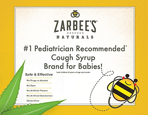 Zarbee S Naturals Baby Cough Syrup Mucus Grape 2 Ounces