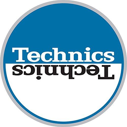 Technics-60662-Moon-2-Tappetino-antiscivolo-diametro-circa-29-cm-BluBianco