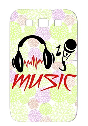 Music Rocknroll Disco Music Microphone House Dance Fun Karaoke Records Pop Jazz Sound Micro Mikrophone Dancer Headphone Rock Rampampb Dj Country Hiphop Country Classic Metal Party Musik Case For Sumsang Galaxy S3 Red