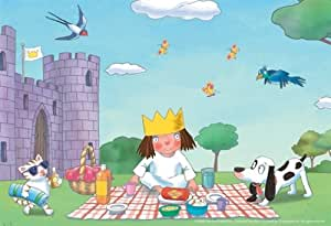 Ravensburger 08998 - Kleine Prinzessin - 2 x 20 Teile Puzzle