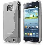 Schicke Schutzhülle für Samsung Galaxy S2 Plus i9105P - Ultra Slim in S-line Weiß von PrimaCase
