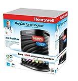 Honeywell True HEPA Allergen Remover, 465 Sq Ft, HPA300