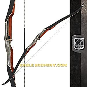 Bear Archery Super Kodiak Recurve Bow Right Hand, 55#