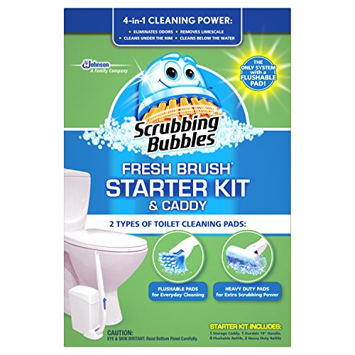 scrubbing-bubbles-fresh-brush-starter-kit-and-caddy-4-count