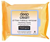 Neutrogena Deep Clean Oil Free Makeup…