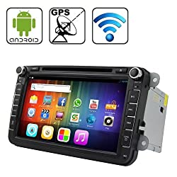 See Rungrace 8.0 inch Android 4.2 Multi-Touch Capacitive Screen In-Dash Car DVD Player for Volkswagen with WiFi / GPS / RDS / IPOD / Bluetooth Details
