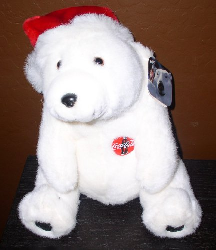 Christmas Coca Cola Polar Bear  Santa Hat - 12