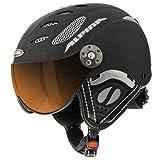 """ALPINA """"Jump JV"""" Ski & Snowboard Helm, Modell 2014 schwarz schwarz 58-60 cm"""