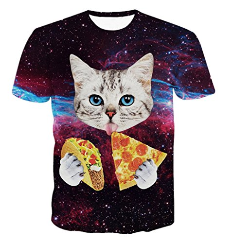 uideazone-mens-galaxy-cat-eat-pizza-manches-courtes-t-shirt-t-tops