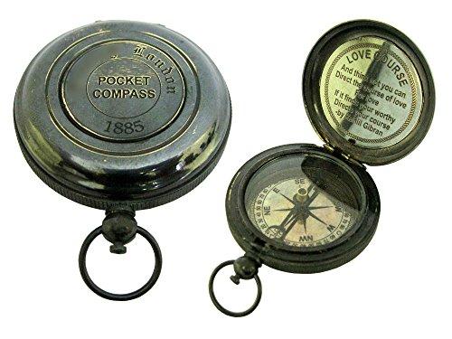 love-course-bussola-tascabile-in-ottone-45-mm-kahlil-jibran