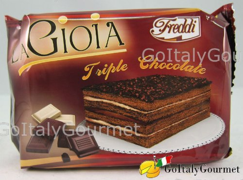 La Gioia Triple Chocolate Mini-Cake - 150g