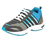 #3: Chevit Men's Blue Stylish Running Shoes (Joggers & Sports Shoes)