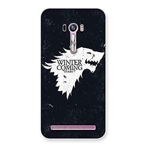 Ajay Enterprises Elite Games Of Wintr Grey Back Case Cover for Zenfone Selfie
