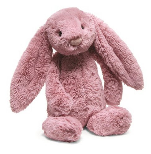 """Bashful Tulip Pink Bunny Small 7"""" By Jellycat front-811908"""