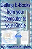 Getting E-books from your Computer to the Kindle