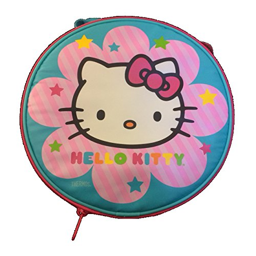 Hello Kitty Pink Round Lunch Bag/Tote - 1