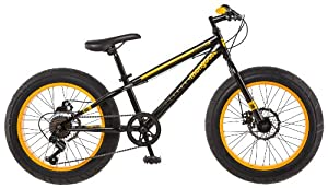 "Amazon.com : Mongoose Massif Boy's 20"" Fat Tire Bike : Sports"