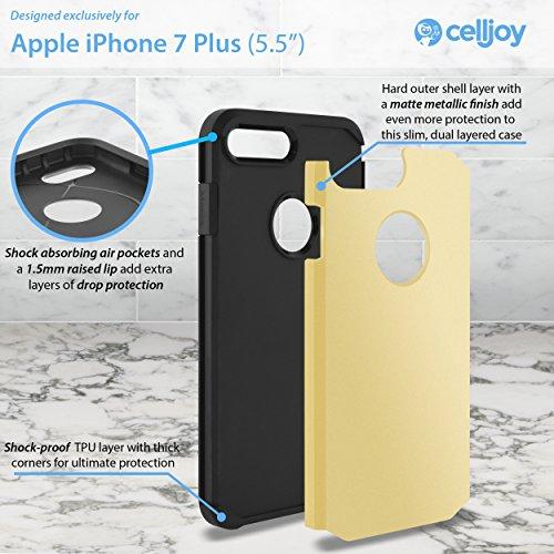 IPhone 7 Plus Case, Celljoy [Liquid Armor] (Dream Catcher Design) Apple iPhone 7 Plus 2016 Release, Slim Fit Armor Dual Layer Protective [[Shockproof]] Hybrid Reinforced Bumper {Impact Resistant}