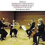 ベートーヴェン:弦楽四重奏曲第4、5、16番