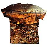 "ArtsyClothingCo- Bruegel - ""Triumph of Death"" (1562) -Tagless- Mens Shirt-2X"