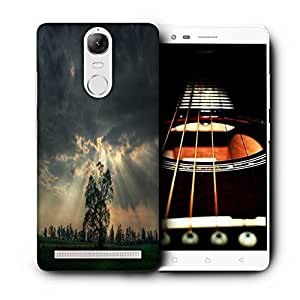 Snoogg Mysterious Tree Printed Protective Phone Back Case Cover For Lenovo K5 Note