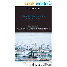 Gower and Davies: Principles of Modern Company Law, 9th edition
