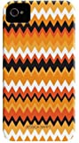Case-Mate Barely There Jessica Swift Designer Case for Apple iPhone 4/4S - Halloween Zig Zag