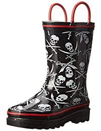 Western Chief Dueling Skulls Rain Boot (Toddler/Little Kid/Big Kid)