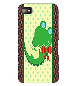 PrintDhaba Cartoon D-3364 Back Case Cover for BLACKBERRY Z10 (Multi-Coloured)