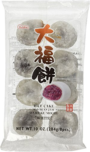 Japanese White Rice Cake Daifuku Mochi 8 Pcs (White Hot Red Hot Jelly Beans compare prices)