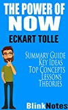 img - for The Power of Now: A Guide to Spiritual Enlightenment: by Eckhart Tolle | BlinkNotes Summary Guide book / textbook / text book