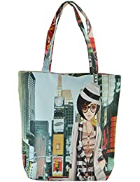 Walson Rubber Multi-Colour Reusable Shopper Bag (WB029)