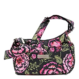Ju-Ju-Be Blooming Romance HoboBe Purse Diaper Bag