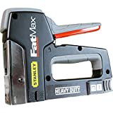 Advanced Stanley FatMax Heavy Duty Staple Gun & Nail Gun [Pack of 1] w/Extended Warranty