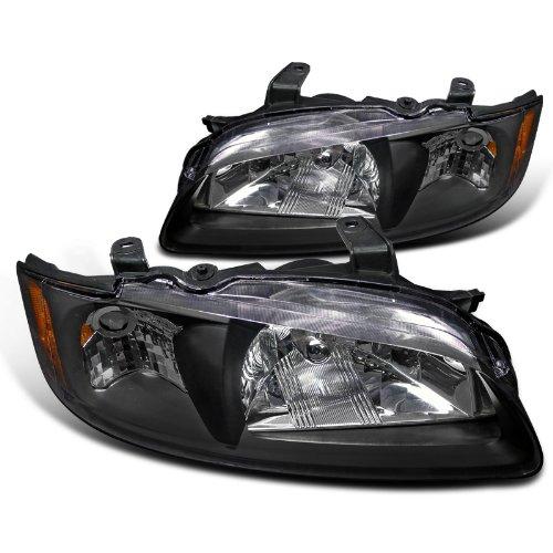 Nissan Sentra Jdm Black Crystal Head Lights Lamps