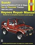 img - for Suzuki Samurai/Sidekick/X-90 & Geo & Chevrolet Tracker: 1986 thru 2001: All 4-cylinder models (Haynes Repair Manuals) book / textbook / text book