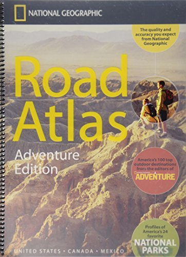 National Geographic Road Atlas, Adventure Edition