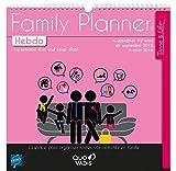 Quo Vadis - Time & Life - Calendrier Family Planner Hebdo - Agenda Scolaire 30x30 cm - Année 2016-2017...
