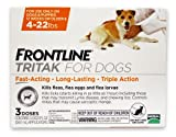Merial Frontline Tritak Pest Control for Dogs and Puppies, 4 to 22-Pound