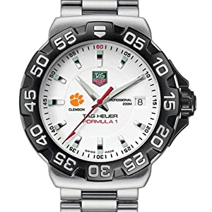 Clemson University TAG Heuer Watch - Mens Formula 1 Watch with Bracelet at by TAG Heuer
