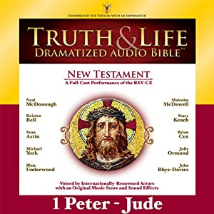Truth and Life Dramatized Audio Bible New Testament: 1 and 2 Peter, 1, 2 and 3 John, and Jude | [Zondervan, Malcolm McDowell]
