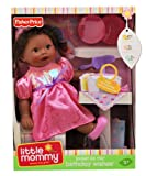 Fisher-Price Little Mommy Sweet As Me Birthday Wishes Doll (African-American)