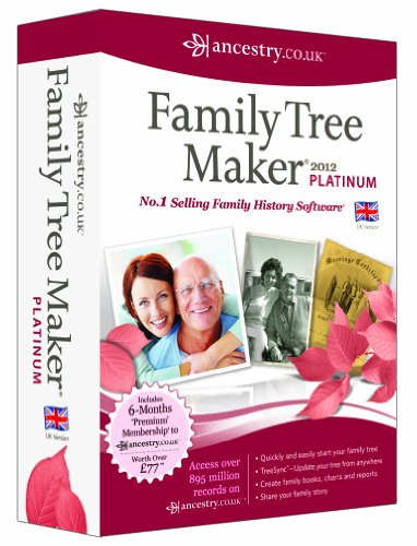 Family Tree Maker 2012 Platinum Edition (PC)