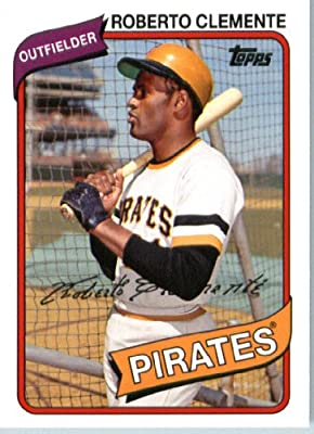 2014 Topps Archives Baseball Card # 91 Roberto Clemente - Pittsburgh Pirates